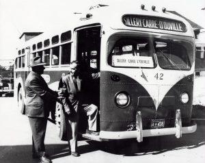 Autobus à Sillery