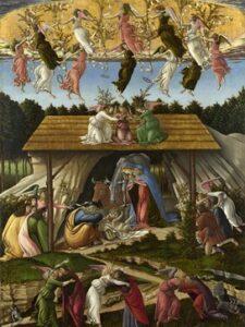 La Nativité (Sandro Botticelli, 1476-1477)