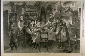 Le réveillon de Noël à la campagne, 1881