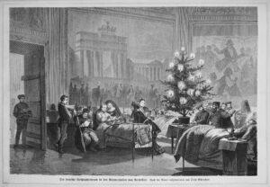 Calendrier de l'Avent, sapin de Noël, histoire