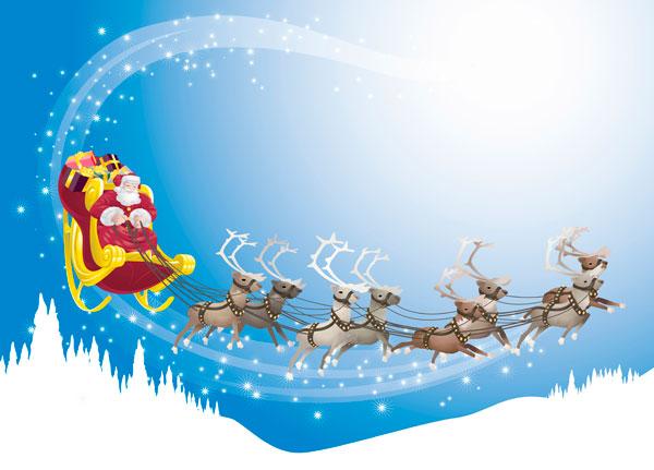 Image rennes du Père Noël